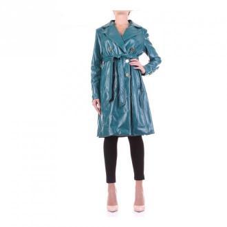 Guess 0Bg31D-9399Z płaszcz Płaszcze Niebieski Dorośli Kobiety Rozmiar: