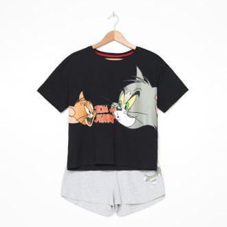 House - Piżama damska Tom & Jerry - Wielobarwny