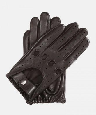 Brązowe rękawiczki damskie