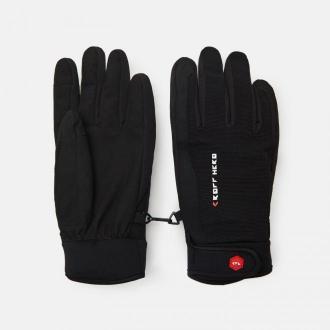 Cropp - Rękawiczki z nadrukiem - Czarny