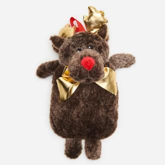 Cropp - Termofor ze świątecznym motywem - Szary