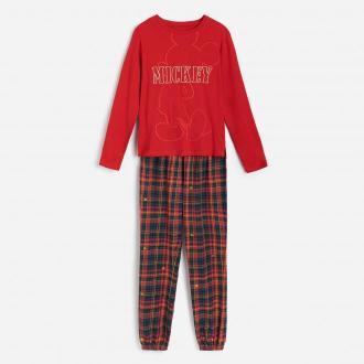 Reserved - Dwuczęściowa piżama Mickey Mouse - Czerwony