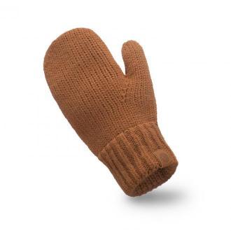 Rękawiczki damskie w kolorze karmelowym