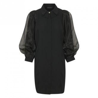 Karen by Simonsen Dazzle Sukienka Bluzki i koszule Czarny Dorośli