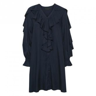 Karen by Simonsen DrawKB Sukienka Sukienki Czarny Dorośli Kobiety