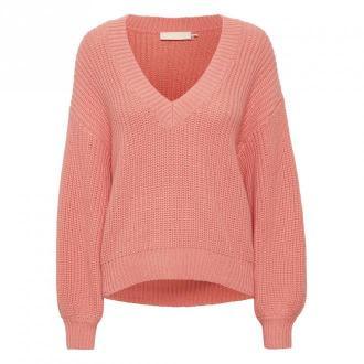 Karen by Simonsen BlakeKB sweter Swetry i bluzy Różowy Dorośli Kobiety