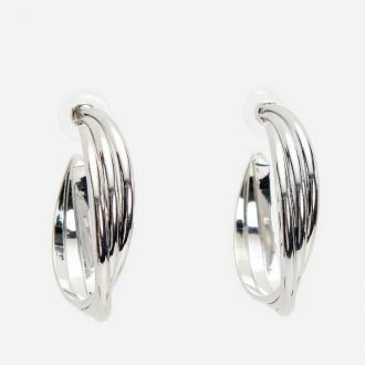 Reserved - Srebrne kolczyki koła na sztyft - Srebrny