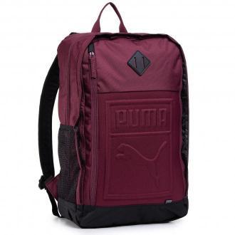 Plecak PUMA - 75581 18 Bordowy