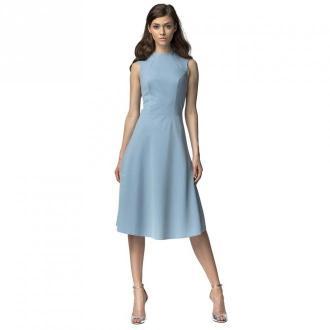 Nife elegancka sukienka Sukienki Niebieski Dorośli Kobiety Rozmiar: S