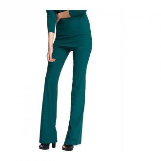 LaDress Trousers Siena Spodnie Zielony Dorośli Kobiety Rozmiar: S