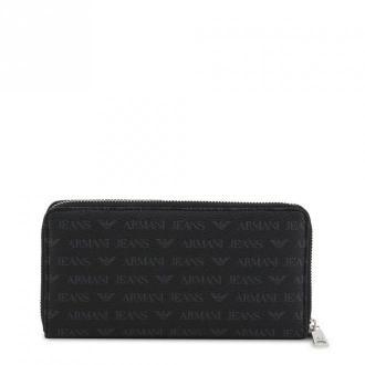 Armani Jeans Wallet 938542_Cd996 Akcesoria Czarny Dorośli Kobiety