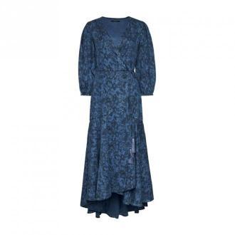 Guess Sukienka Sukienki Niebieski Dorośli Kobiety Rozmiar: S