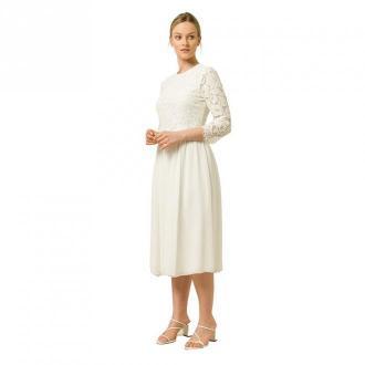 2in1 Midi Bridal Dress