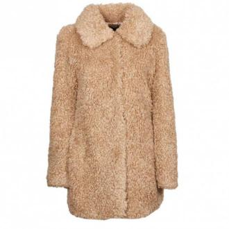 Guess coat Płaszcze Beżowy Dorośli Kobiety Rozmiar: M