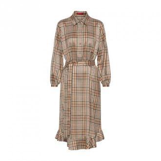 Hugo Boss Kenan Dress Sukienki Brązowy Dorośli Kobiety Rozmiar: L - 40