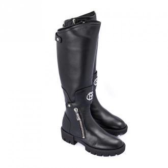 Baldinini Nappa leather boot Obuwie Czarny Dorośli Kobiety Rozmiar: 38