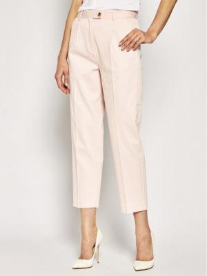 TOMMY HILFIGER Spodnie materiałowe WW0WW27278 Różowy Tapered Fit