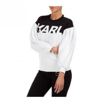 sweatshirt Puffy logo