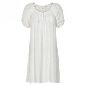 Kaffe Kawa Bursztynowy Tunic 501031 (kreda, 36) Sukienki Biały Dorośli