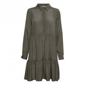 Kaffe KAdenike Sukienka Sukienki Zielony Dorośli Kobiety Rozmiar: XS -