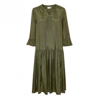 Kaffe Kathea Sukienka 10551566 G Sukienki Zielony Dorośli Kobiety