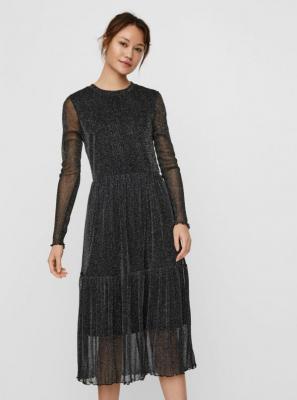 Czarna sukienka VERO MODA Aurora - XS
