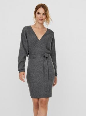 Szara sukienka swetrowa VERO MODA Rem - XS
