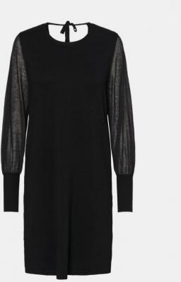 Czarna sweterkowa sukienka VERO MODA Bellissimo - XS
