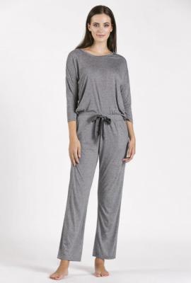 Dół od piżamy z drobnym wzorem
