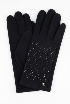 Rękawiczki z kryształkami