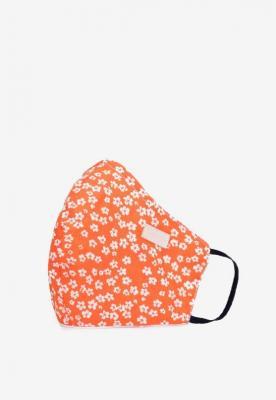 Pomarańczowa Maseczka Bawełniana Lightpearl