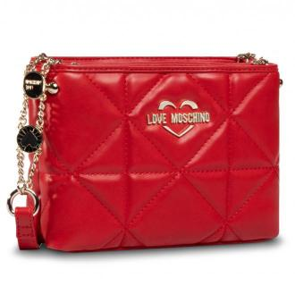Torebka LOVE MOSCHINO - JC4210PP0BKB0500  Rosso