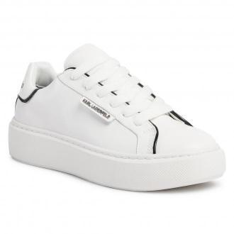 Sneakersy KARL LAGERFELD - KL62220  White Lthr