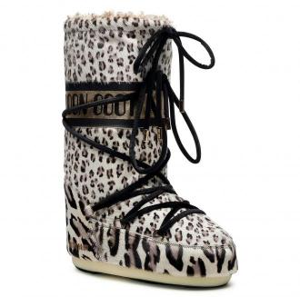 Śniegowce MOON BOOT - Animal 14026200001 Giraffe Print