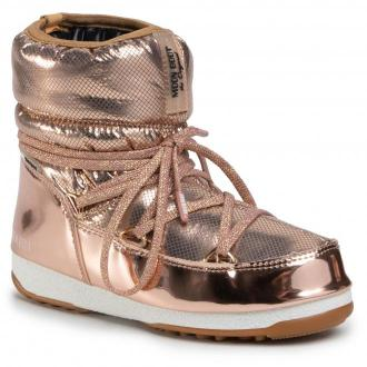 Śniegowce MOON BOOT - Low St.Moritz Wp Gold
