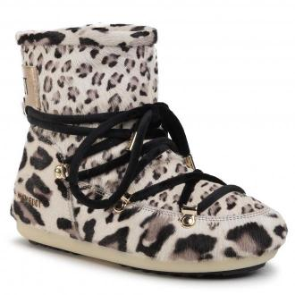 Śniegowce MOON BOOT - Dk Side Low Animal 24300600 Giraffe Print