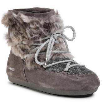 Śniegowce MOON BOOT - Dk Side Low Wool Fur 24300700 Grey