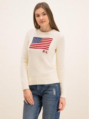 Polo Ralph Lauren Sweter 211662510 Beżowy Regular Fit