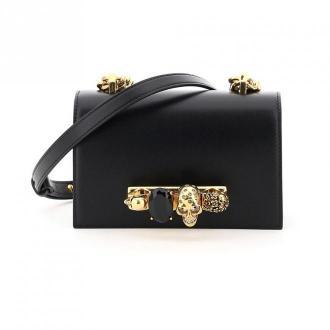 Mini jewelled satchel