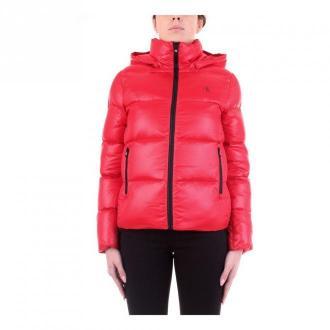Calvin Klein Jeans J20J214115 jacket Kurtki Czerwony Dorośli Kobiety