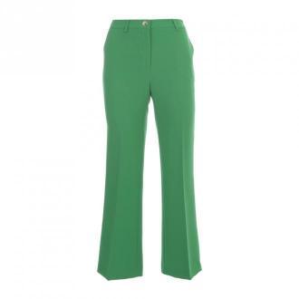 Nina 14.7 Flared Pants Spodnie Zielony Dorośli Kobiety Rozmiar: 42 IT