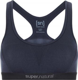 super.natural Semplice 220 Bra Women, navy blazer XS 2020 Biustonosze z wełny merynosów