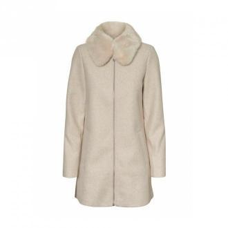 Vero Moda Płaszcz 10232458 Płaszcze Beżowy Dorośli Kobiety Rozmiar: XL
