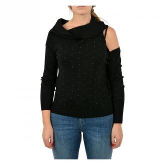 Guess Sweaters Swetry i bluzy Czarny Dorośli Kobiety Rozmiar: XS
