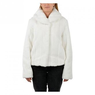 Guess Coat Kurtki Biały Dorośli Kobiety Rozmiar: XS