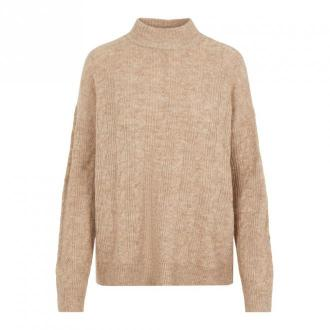 Pieces Sweater 17106808 Swetry i bluzy Beżowy Dorośli Kobiety Rozmiar: