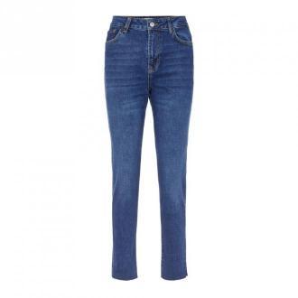 Pieces Jeans 17106138 Jeansy Niebieski Dorośli Kobiety Rozmiar: M