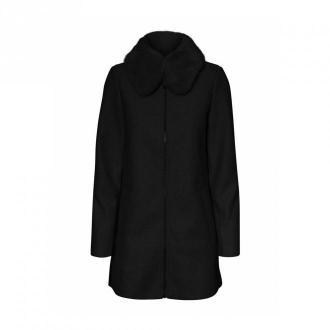 Vero Moda Płaszcz 10232458 Płaszcze Czarny Dorośli Kobiety Rozmiar: M