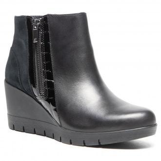 Botki CLARKS - Madera Lo 2 261517094 Black Leather