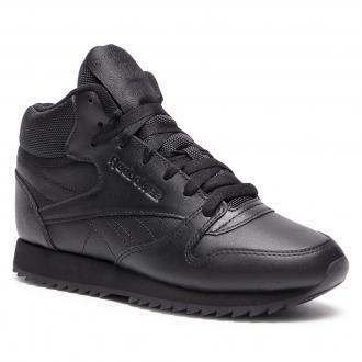 Buty Reebok - Cl Lthr Mid Ripple FZ4762 Black/Black/Black